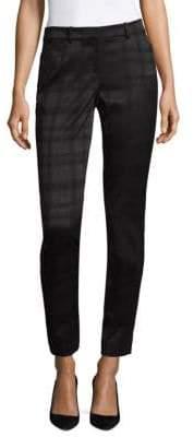 Lafayette 148 New York Mystique Stretch Jacquard Manhattan Skinny Pants