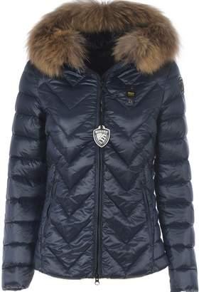 Blauer Fur Trim Down Jacket