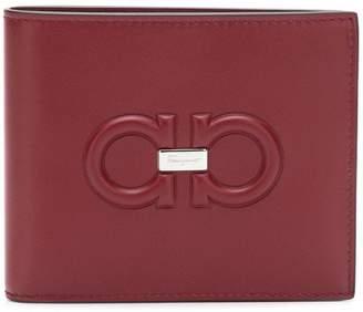 Salvatore Ferragamo embossed Gancio wallet
