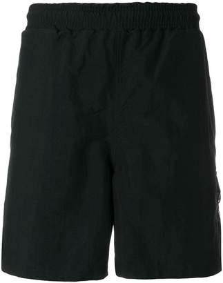 Pop Trading International logo swim shorts