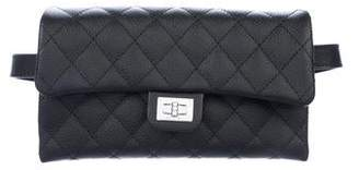 Chanel 2018 Quilted Uniform Waist Bag