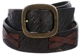 Dolce & Gabbana Leather Waist Belt
