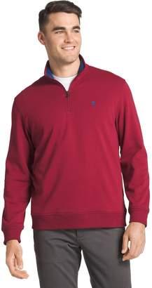 Izod Big & Tall Advantage Regular-Fit Performance Quarter-Zip Fleece Pullover
