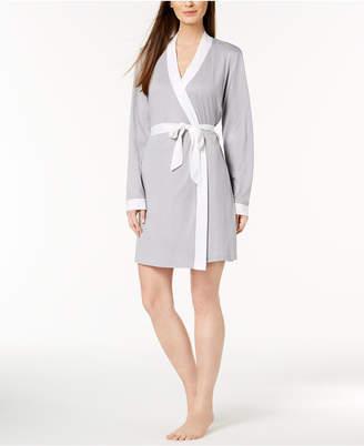 Cosabella Bella Bridal Contrast-Trim Robe AMOBD8091