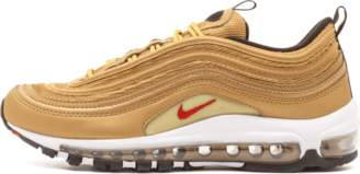 Nike 97 QS (GS) Metallic Gold/Varsity Red