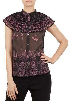 Ted Baker Briela Pleated Top