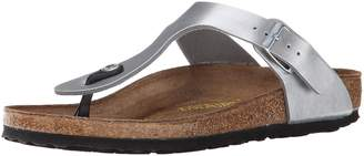 Birkenstock Gizeh VL Womens Sandals Washed Metallic UK4 EU37 US6/6.5
