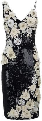 Alice + Olivia Sequin-Embellished Francie Dress