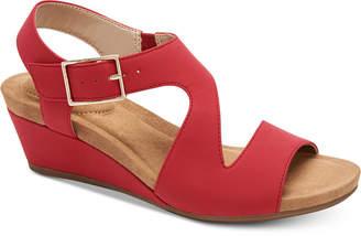 Giani Bernini Belinaa Memory Foam Wedge Sandals
