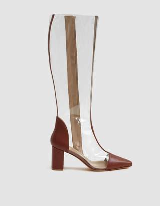 Maryam Nassir Zadeh Jupiter Tall Boot in Chesnut