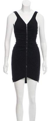 Chanel Sleeveless Matelassé Dress