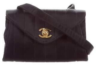 a63a84d8c7eb Chanel Satin Vertical Quilt Evening Bag