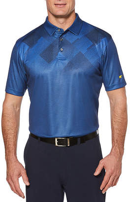 JACK NICKLAUS Jack Nicklaus Easy Care Short Sleeve Argyle Polo Shirt