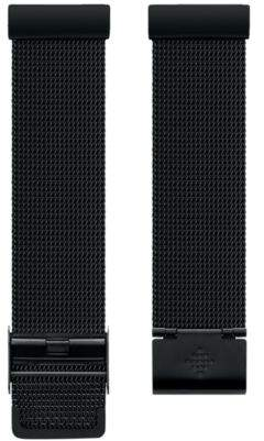 Fitbit VersaTM Black Stainless Steel Mesh Accessory Band