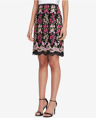 Tahari ASL Embroidered Skirt, Regular & Petite