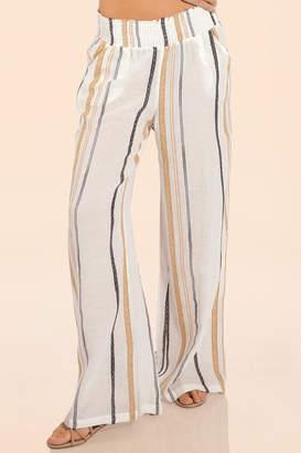 Elan International Striped Beach Pants