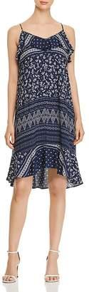 Vince Camuto Ditsy Liberty Printed Ruffle Dress
