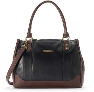 Co Stone & Megan Convertible Leather Satchel