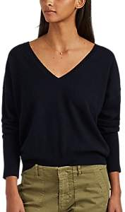 Nili Lotan Women's Kylan Cashmere V-Neck Sweater - Navy