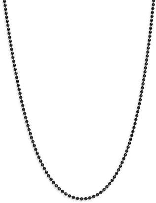 """Dodo Sterling Silver Everyday Chain Ball Chain Necklace, 19.6"""""""