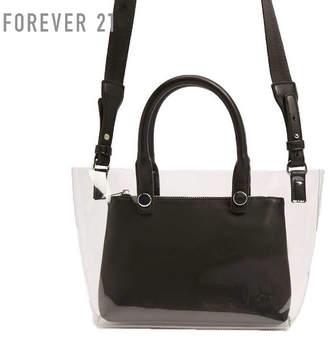 Forever 21 (フォーエバー 21) - Forever 21 クリアショルダーバッグ