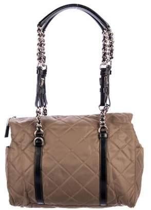 Prada Quilted Tessuto Shoulder Bag brown Quilted Tessuto Shoulder Bag