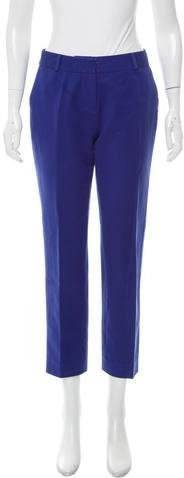 Kate Spade New York Mid-Rise Straight-Leg Pants
