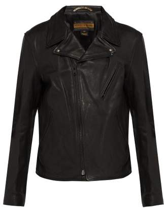 Schott Perfecto Leather Biker Jacket - Mens - Black