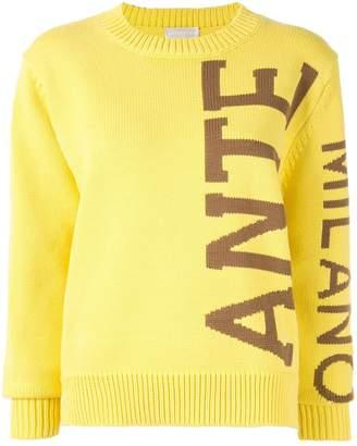 Anteprima logo sweatshirt