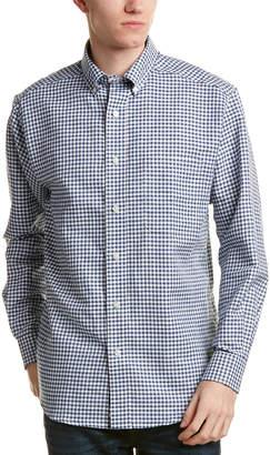 Bills Khakis Standard Issue Classic Fit Linen-Blend Woven Shirt