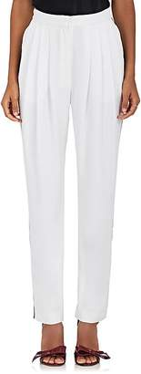 Philosophy di Lorenzo Serafini Women's Contrast-Piping Crepe Pants