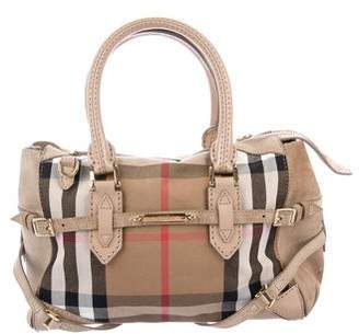 Burberry Small Bridle House Check Gladfield Tote