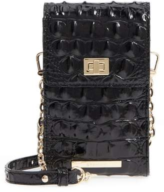 Brahmin Madison Leather Smartphone Crossbody Bag