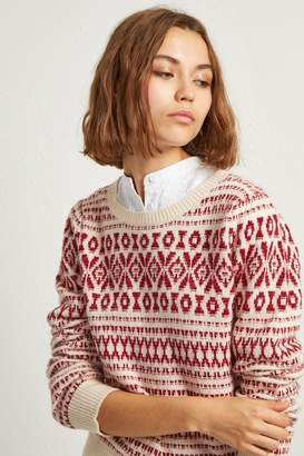 French Connenction Esme Fair Isle Jumper