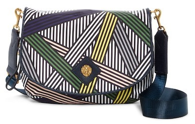 Anne Klein Angelina Nylon Crossbody Bag