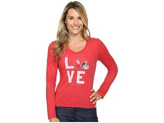 Life is Good Love Long Sleeve Tee Women's T Shirt