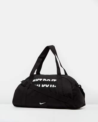 Nike Logo Print Gym Club Duffle Bag - Women's