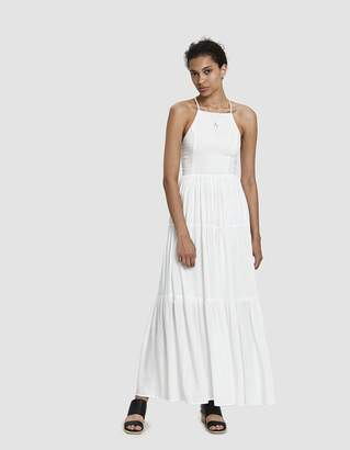 Farrow Phoebe Cross-Back Maxi Dress