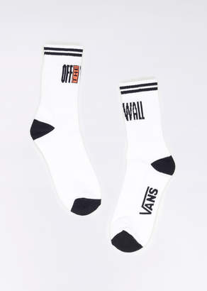 Vans Off The Wall Socks | Wildfang - Off The Wall Socks - WHITE - OS