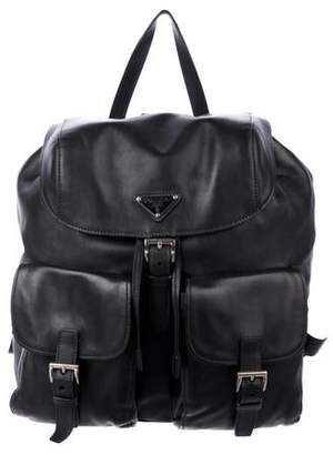 b1842955216 Pre-Owned at TheRealReal · Prada Soft Calf Leather Backpack