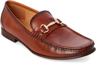 Steve Madden Cognac Gere Leather Bit Loafers