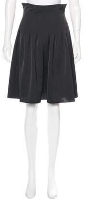 Anna Sui Pleated Knee-Length Skirt
