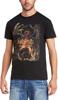 NIGHTMARE ON ELM STREET Men's Vintage Freddie Short Sleeve T-Shirt
