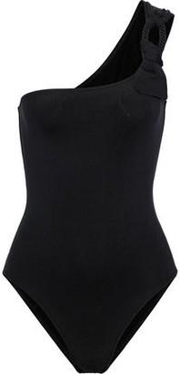 Eres Studio Cliche One-shoulder Ring-embellished Swimsuit