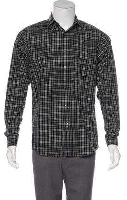 Ralph Lauren Black Label Plaid Woven Shirt