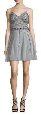 Jump Sequin Mini Dress
