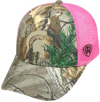 Top of the World Adult Michigan State Spartans Sneak Realtree Snapback Cap