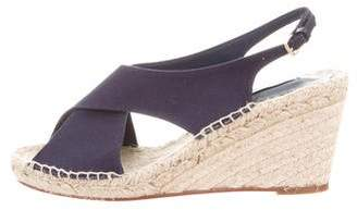 Diane von Furstenberg Leather Buckle Wedges