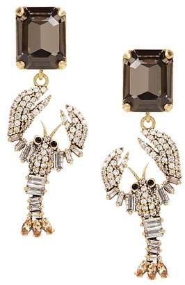 Banana Republic Jeweled Lobster Drop Earring