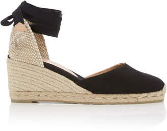 Castaner Carina Canvas Wedge Sandals